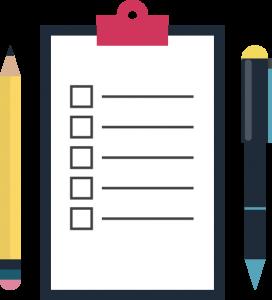 Checklist para la semana de inmersión