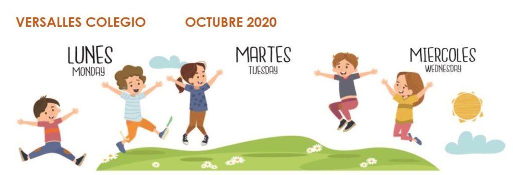 Menú Octubre 2020